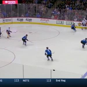 Semyon Varlamov Save on Roman Josi (00:32/2nd)