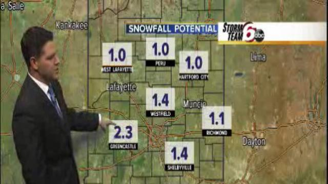 Wednesday's Forecast: Snow expected soon