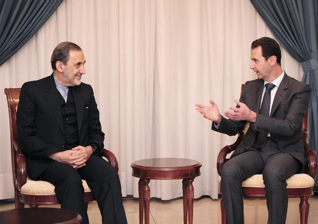 Assad says enemies boosting his opponents