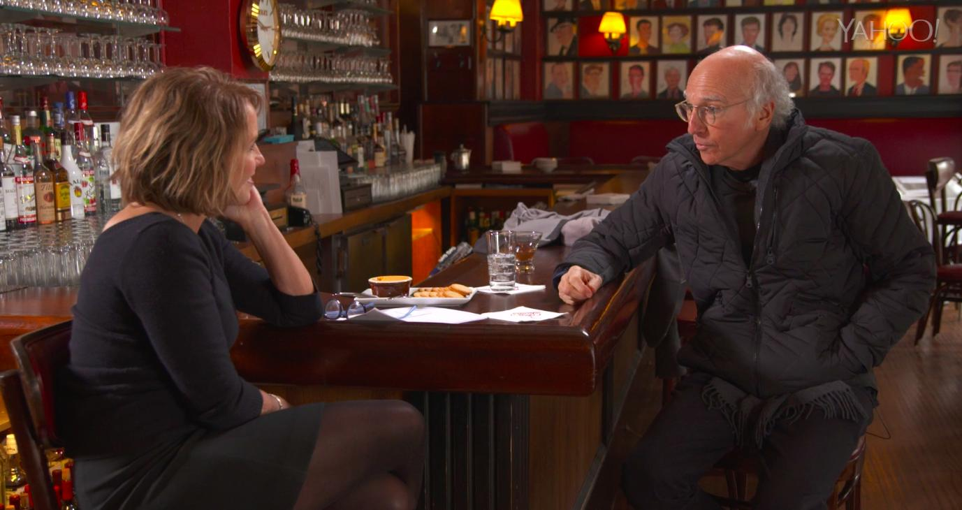 Larry David on love, his least favorite body part and being on Broadway