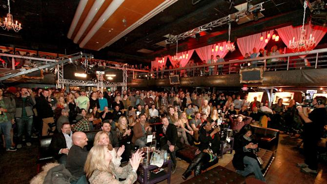 A general view of the atmosphere at the Powder Magazine Awards at Park City Live Day 1 on Thursday, January 17, 2013, in Park City, Utah. (Photo by Barry Brecheisen/Invision for Park City Live/AP Images)