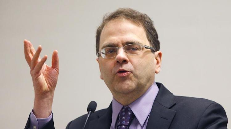 Minneapolis Federal Reserve Bank President Narayana Kocherlakota speaks at a macro-finance conference hosted by the Boston Federal Reserve Bank and Boston University in Boston