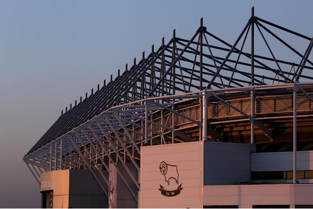 Pride Park is on a shortlist of potential venues for the 2015 Rugby World Cup