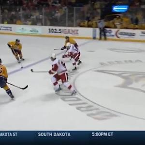 Detroit Red Wings at Nashville Predators - 02/28/2015