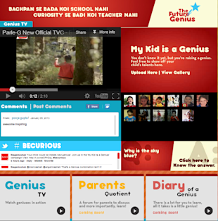 How Brands Are Building Social Media Platforms Targeting Parents image Parle G The future genius