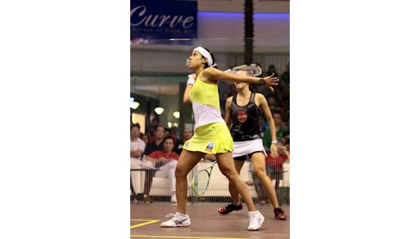 Ice queen Nicol into British Open quarters