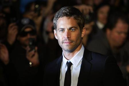 "Actor Paul Walker arrives for the British premiere of ""Fast & Furious"" in Leicester Square in London"