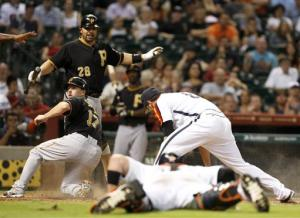 Astros lose 11th straight, 6-5 to Pirates