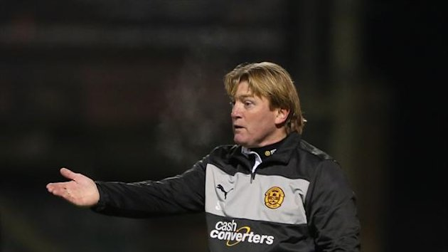 Stuart McCall is not taking any risks with Motherwell's finances