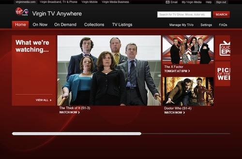 Virgin Media launches Virgin TV Anywhere for live streaming and video on demand. Virgin Media, Apps, iPad apps, iPhone apps, Virgin TV Anywhere 0