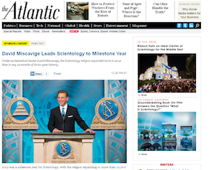 Why the Atlantic Removed the Scientology Advertorial (Updated)