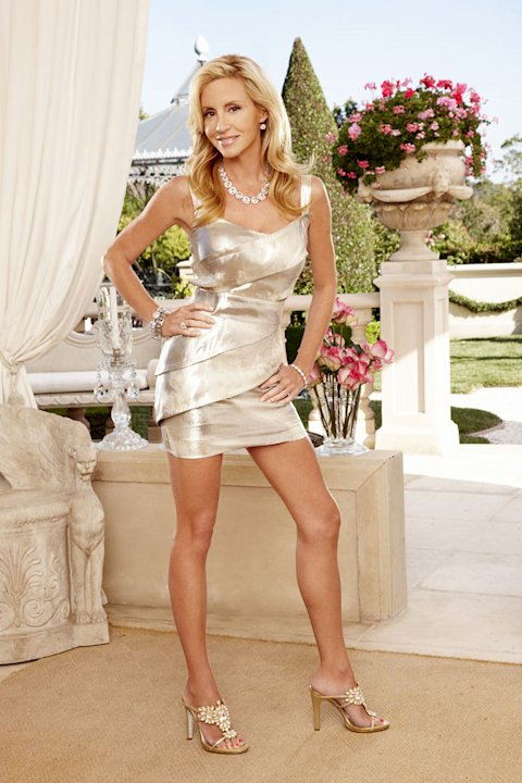 "Camille Grammer stars in ""The Real Housewives of Beverly Hills."""