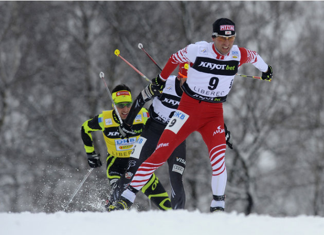 Mario Stecher Of Austria Leads AFP/Getty Images