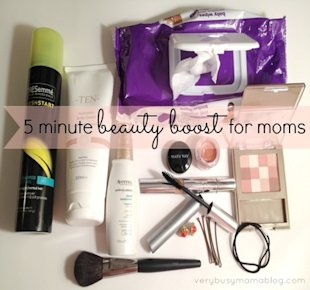 Beauty boosts for busy moms