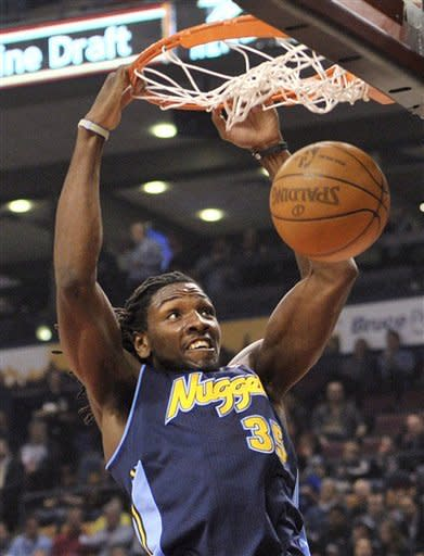 Bargnani has 26 points as Raptors beat Nuggets