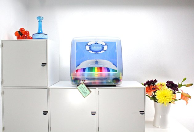 12 incredible pet beds on Etsy rainbow imac