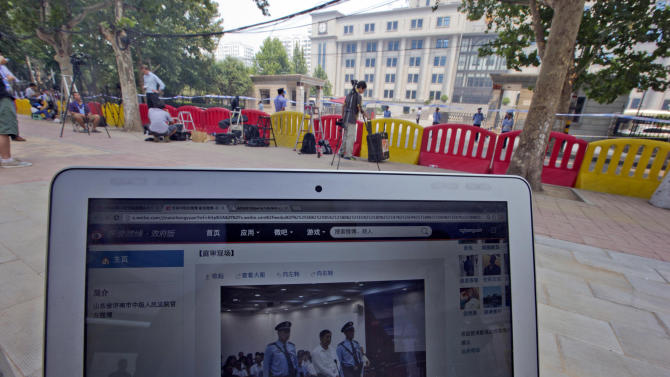 In rare openness, China microblogs Bo Xilai trial