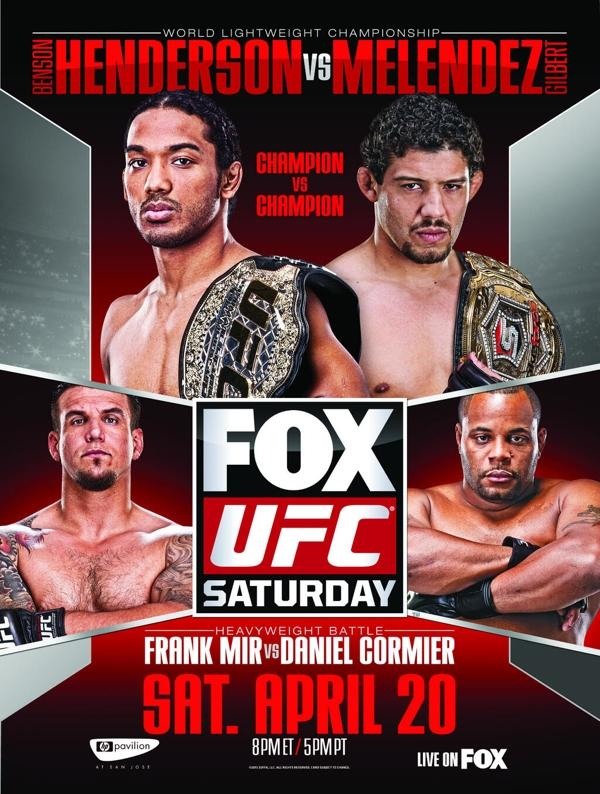 UFC on Fox 7 Fighter Salaries: Benson Henderson, Frank Mir, and Gilbert Melendez Top Payroll
