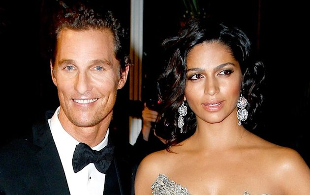 Matthew McConaughey a pous Camila Alves