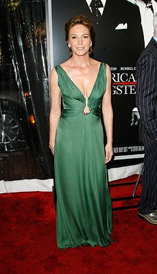 Diane Lane at the New York City premiere of Universal Pictures' American Gangster