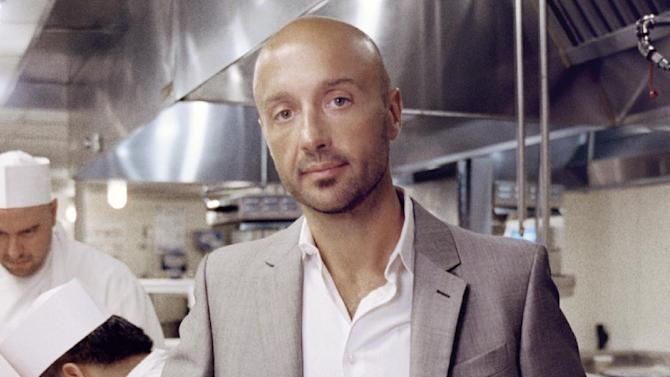"""In this book cover image released by Viking, """"Restaurant Man,"""" by Joe Bastianich, is shown. (AP Photo/ Viking)"""