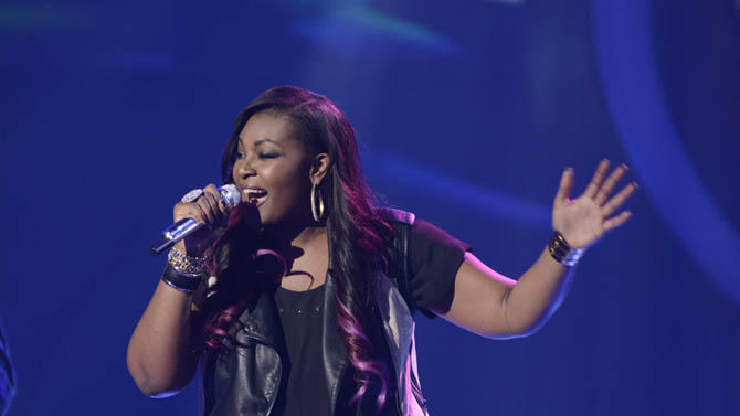 """""""American Idol"""" Top 9 - Candice Glover"""