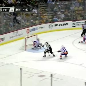 Chad Johnson Save on Steve Downie (15:09/2nd)