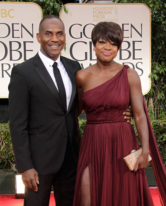 Julian Tennon and Viola Davis