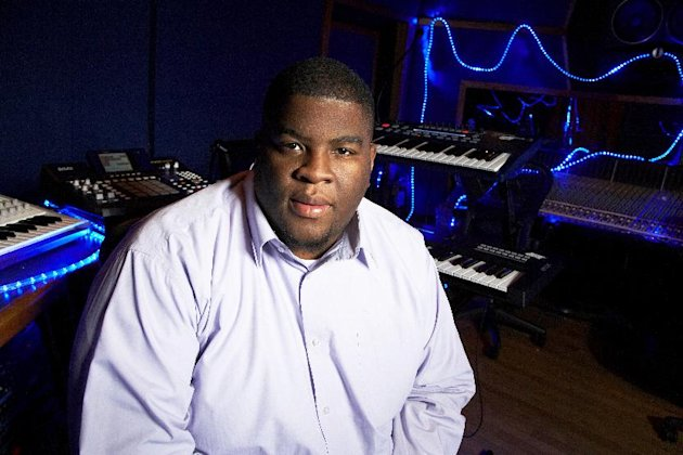 This Jan. 29, 2013 photo shows Grammy-nominated producer Salaam Remi posing for a portrait at his studio in New York. Remi, best known for his work with Amy Winehouse and Nas, is nominated for non-classical producer of the year at Sundays Grammy Awards. Last year, his production credits include songs on Nas Life Is Good and Miguels Kaleidoscope Dream, as well as Alicia Keys R&B hit Girl on Fire. (Photo by Dan Hallman/Invision/AP)