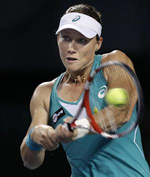 Stosur, Kuznertsova advance at Kremlin Cup