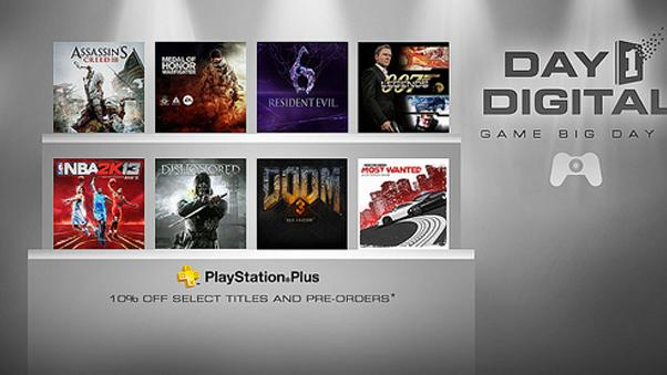 Sony Drops Price of AAA Titles Downloaded Day of Launch