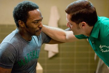 Anthony Mackie and Matthew Fox in Warner Bros. Pictures' We Are Marshall
