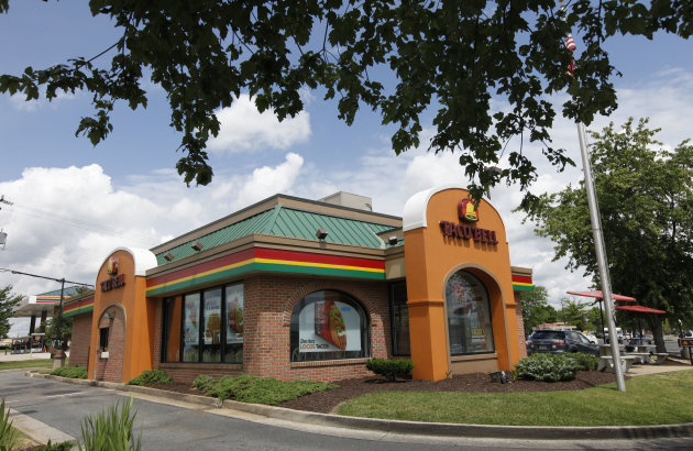 <p> FILE-This Wednesday, June 6, 2012, file photo shows a Taco Bell restaurant in Richmond, Va. The fast-food chain announced Wednesday, April 10, 201 that it's exploring ways to offer more balanced choices and transparency. In a call with reporters, CEO Greg Creed said that could mean new products and reformulations of existing offerings. (AP Photo/Steve Helber, File)