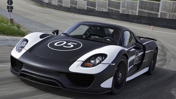 Porsche 918 Hybrid
