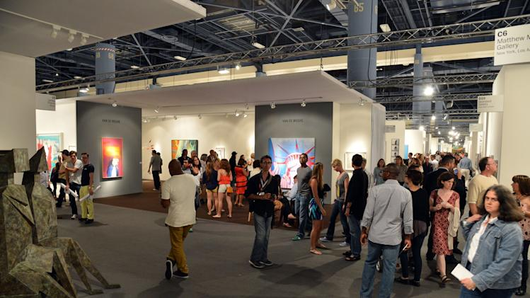 Art Basel Miami Beach 2012 - Day 3