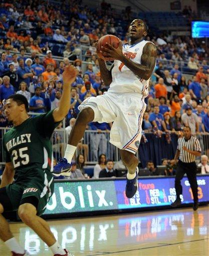 No. 11 Gators beat Mississippi Valley State 82-54