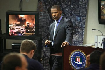 Jamie Foxx in Universal Pictures' The Kingdom