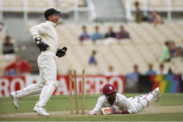 Brian Lara of the West Indies
