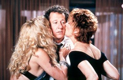 Goldie Hawn , Geoffrey Rush and Susan Sarandon in Fox Searchlight's The Banger Sisters