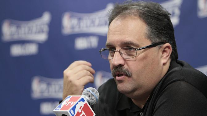 AP Source: Stan Van Gundy Pistons' coach/president