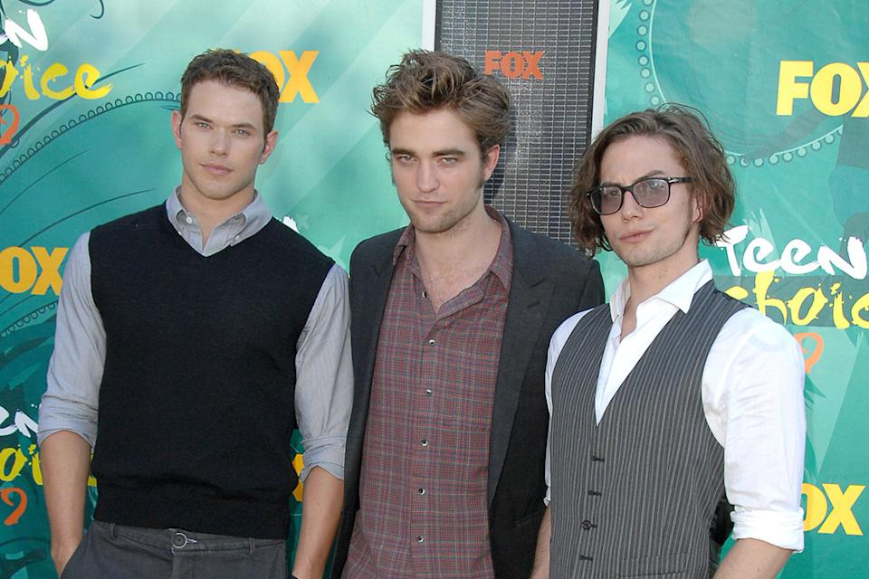 2009 Teen Choice Awards Kellan Lutz Robert Pattinson Jackson Rathbone