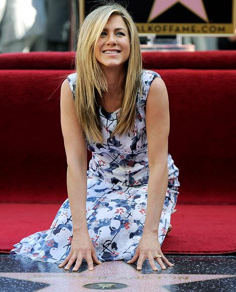 Jennifer Aniston Receives Star on the Hollywood Walk of Fame
