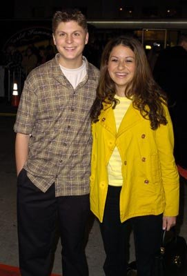 Premiere: Michael Cera and Alia Shawkat at the LA premiere of Warner Bros.' Starsky & Hutch - 2/26/2004