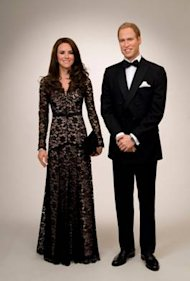 FW: Duchess of Cambridge Wax Figure featuring Temperley London at Madame Tussauds