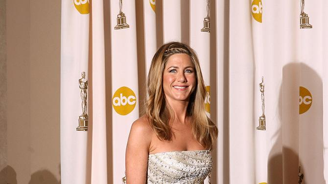 Jennifer Aniston B W Oscars