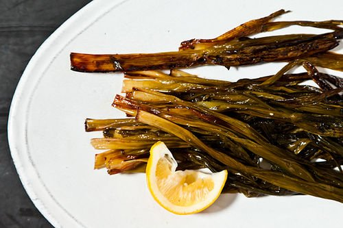 Molly Stevens&amp;#39; Sweet Braised Whole Scallions
