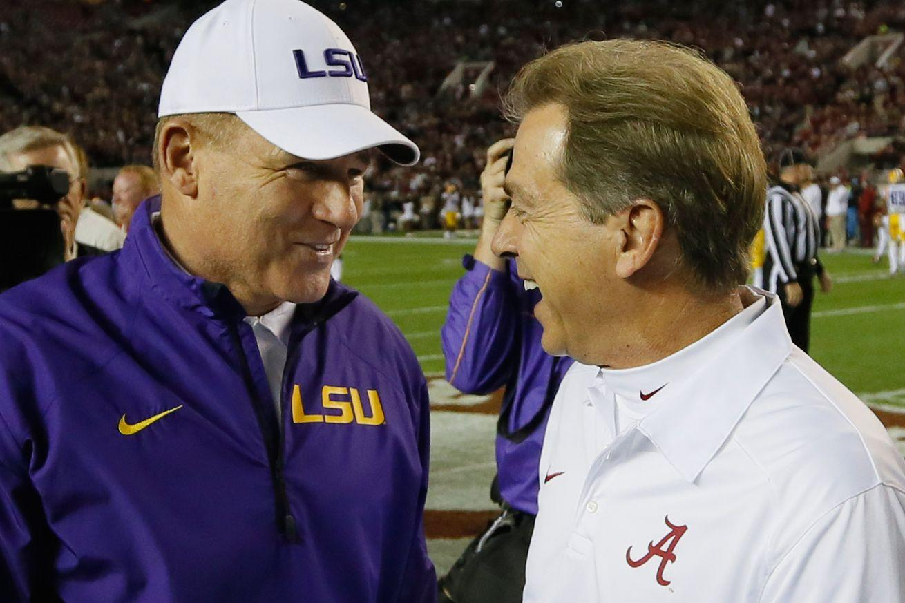 Alabama, LSU and Clemson lead the way in 1-128 projected 2016 rankings