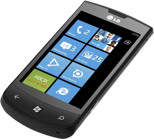 LG Optimus 7 Windows Phone