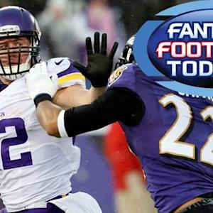 Fantasy Football Today: Waiver Wire Pickups -- RB (12/11)
