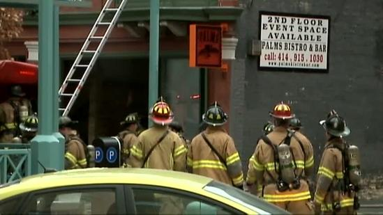 Historic Third Ward restaurant catches fire